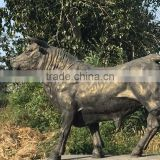 Trade Assurance garden metal animal statue cast iron bull statue supplier