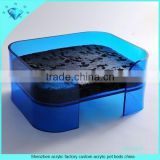 Shenzhen acrylic factory custom acrylic pet beds china