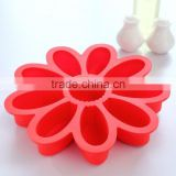 Flower shape plastic cake decorations Jelly mold silicon moulds cake decorating