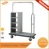clothes hanger trolley clothes hanger cart for hotel laundry room with 4 wheels Kunda C-078