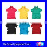 kids clothing wholesale polo shirt cotton embroidered plain polo shirt kids wear