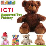 ICTI Approved Toy factory Teddy Bear Stuffed Custom Small Clothes Teddy Bear Plush Toy With T Shirts