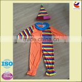 wholesale Halloween professional clown costumes circus costumes carnival clothes