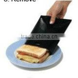 as seen on tv products ptfe reusable non-stick microwave toaster bag