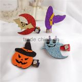 Kids Halloween Hairpin Glitter Ghost Hair Clip For Baby Girls M7043004