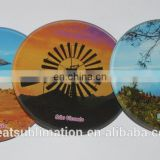 Sublimation photo glass coaster