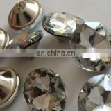Round Crystal Glass Buttons Copy Diamond Button pull Buttons Rhinestone Sofa crystal decorative Diamond