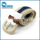 Fashion Leather Braided Belt For Women Leather Belt For Sewing Machine