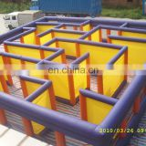 Top inflatable obstacle course inflatable outdoor attractions maze for adult