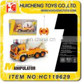 B/O mini 4ch rc construction toy truck excavator with light