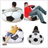 Factory Cheap Inflatable Football Soccer Style Sofa/ Inflatable Chair For Sale