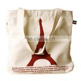 recycled printed promotional bio organic promotional cotton canvas tote bag