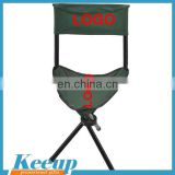 Personalized Portable Camping folding Triangle stool with backrest china supplier