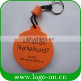 die cut shape mini cute colorful layer personalized key chains