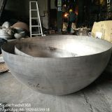 Carbon steel hemispherical head steel hemisphere metal half sphere for chemical industry