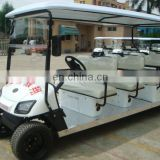 Electric 8 passenger golf cart for sale | Sightseeing car | for Southeastern Asia market