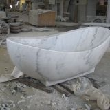 Guangxi Marbe Bathroom Oval Tubs Natural Stone Free-standing Bathtubs