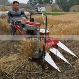 Made in China High Capacity rice harvesting and cutting bundling machine/ alfalfa reed paddy rice reaper binder