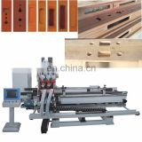 TC-60MS-CNC-A Automatic Full function Wooden-door Lock Hole and Hinge Boring Machine