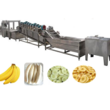 50kg-500kg Per hour banana chips fruit chips processing line