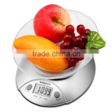 11lb/5kg Digital Kitchen Food Scale, Volume Measurement Supported