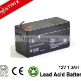 No memory effect 1.3AH telecommunications batteries 12V