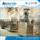 2000 Glass Bottle per hour small producttion processing Beer filling machine