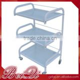 Beiqi New 3 Tiers Cart Rolling Trolley Hair Beauty Salon Spa Storage Equipment Organizer