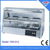 Wholesale price stainless steel bakery display showcase
