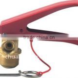 CO2 fire extinguisher valve