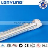 T8 led v-type tube light led tube fluorescent tube light lamp 230v ETL TUV SAA C-Tick CE ROHS Approved