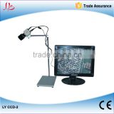 Good quality LY CCD-2 digital microscope for observing motherboard magnify to 150 times on the desk