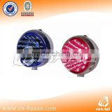 Front led warning light for motorcycle
