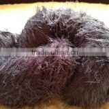 100%nylon solid color feather yarn for socks