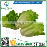 Greenflower 2016 Wholesale artificial PU Lettuce China handmaking decoration