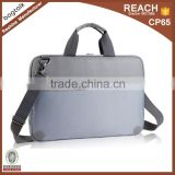 LP001 2016 Wholesale Custom China Supplier Business Style Fashion Waterproo Leather And Nylon Laptop Bag
