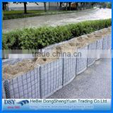 cheap hexagonal & welded gabion basket for sale( defence wall or bunker/hesco barriers) of anping welded
