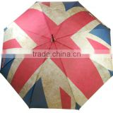 The UK retro flag straight umbrella for promotion/gift/advertising