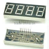 "7 Segment LED Numeric And Character Display Module ( 0.5'' 0.56"" Red 4 Digits Characters Common Cathode ) Clock"