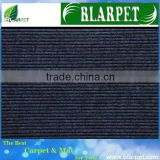 Top quality stylish stripe wall to wall carpet latex backing