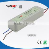 SANPU 2013 hot selling CE ROHS waterproof IP67 12v 3a power supply led electronic driver with plastic case