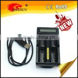 18650 battery charger intellicharger charger nitecore UM20 charger for li-ion/ni-mh18650,26650,18350,14490 battery etc