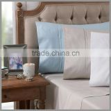 Sateen Bed Sheet Set 100% Cotton 500 To 1000 Thread Count/With Embroidery/with barotti stitch on fold cuff