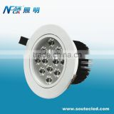 High power led night club ceiling light hotsale dubai ceiling light 12 watts daylight led ceiling light