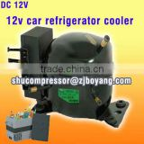 12v car frige cooler compressor for Commercial Industrial Telecommunications Battery Cooling Beverage Dispensers Refrigerated