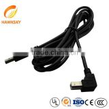 USB 2.0 A to mini B 5-pin cable for MP3 MP4 Camera wire harness