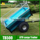 Powder coated ATV tow behind trailer