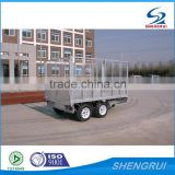 FULLY WELDED HOT DIPPED GALVANIZED BOX TRAILER