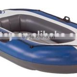 foldable inflatable pontoon boat fishing rowing boat