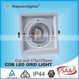 citizen/epistar led MR16 pure white cob led grid light fluorescent ceiling light fixture